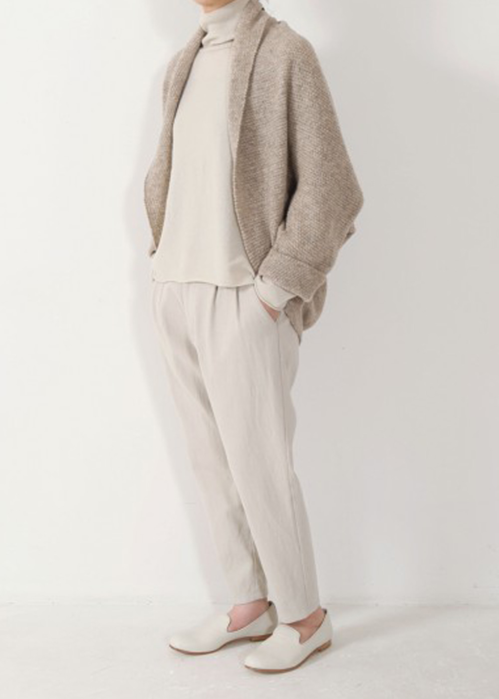 KNIT WOOL CASHMERE BORELO
