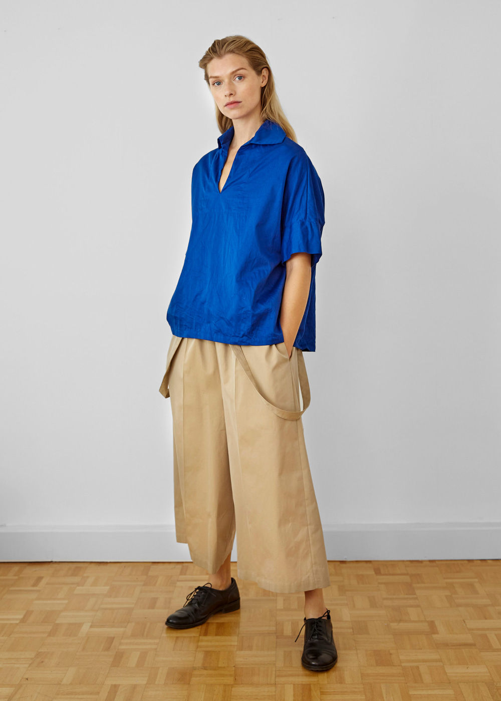BURBERRY WIDE TROUSERS